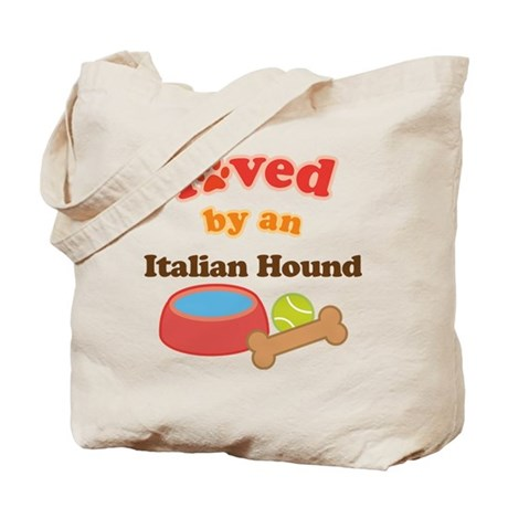 Italian Hound Dog Gift Tote Bag