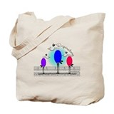 Respiratory 3 birds.PNG Tote Bag