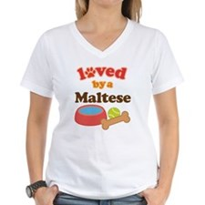 Maltese Dog Gift Shirt