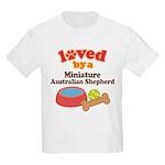 Miniature Australian Shepherd Dog Gift Kids Light
