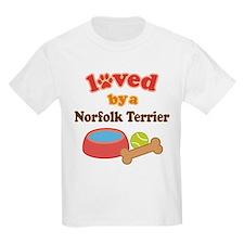 Norfolk Terrier Dog Gift T-Shirt