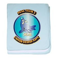 SSI - US Navy - Seal Team 2 baby blanket