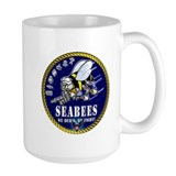 US NAVY Seabees Roped Rates Mug