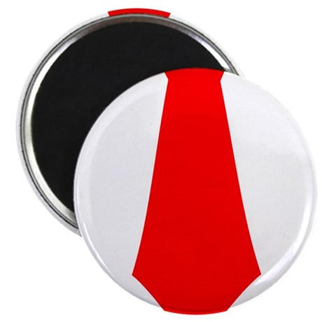 "Red Tie.png 2.25"" Magnet (100 pack)"