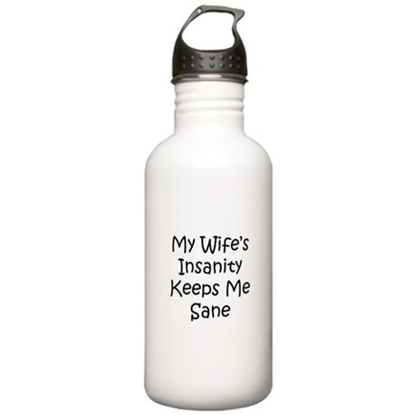 Wifes Insanity.png Stainless Water Bottle 1.0L
