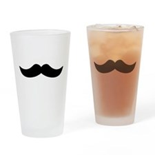Mustache3.png Drinking Glass