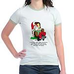 Night After Christmas Jr. Ringer T-Shirt