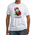 Night After Christmas Fitted T-Shirt