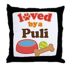 Puli Dog Gift Throw Pillow