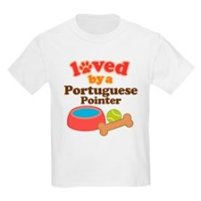 Portuguese Pointer Dog Gift T-Shirt