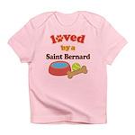Saint Bernard Dog Gift Infant T-Shirt