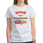 Saint Bernard Dog Gift Women's T-Shirt