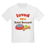 Saint Bernard Dog Gift Kids Light T-Shirt