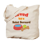 Saint Bernard Dog Gift Tote Bag