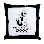 Stormtroop Doog 2.0 Throw Pillow
