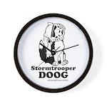 Stormtroop Doog 2.0 Wall Clock