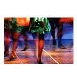 <b>Irish Dancer</b><br> Postcards (Package of 8)