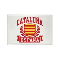 Cataluna Espana Rectangle Magnet