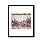 compton copy.jpg Framed Panel Print