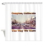 compton copy.jpg Shower Curtain