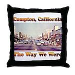 compton copy.jpg Throw Pillow