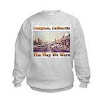 compton copy.jpg Kids Sweatshirt