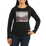 compton copy.jpg Women's Long Sleeve Dark T-Shirt