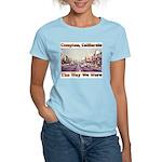 compton copy.jpg Women's Light T-Shirt