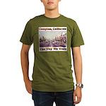 compton copy.jpg Organic Men's T-Shirt (dark)