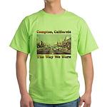 compton copy.jpg Green T-Shirt