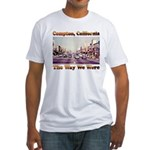compton copy.jpg Fitted T-Shirt