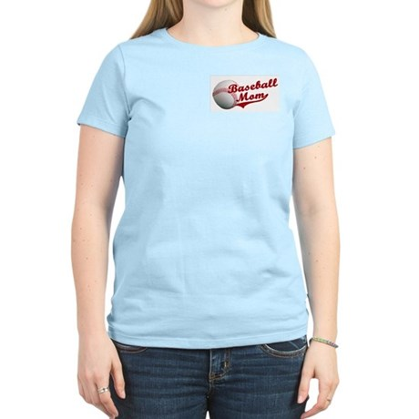 Baseball_Mom Women's Light T-Shirt