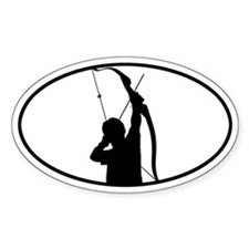 Archery Oval Decal