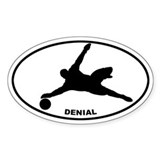 Soccer - Goalie Denial Oval Decal