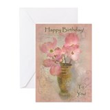 Pink Dogwood Greeting Cards (Pk of 10)