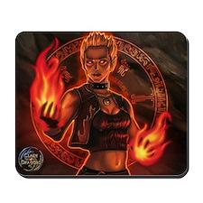 Pyromancer Elyssa Mousepad