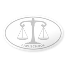 Law School - Scales - Gray on Clear