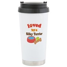 Silky Terrier Dog Gift Ceramic Travel Mug