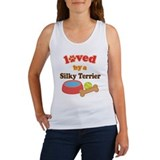 Silky Terrier Dog Gift Women's Tank Top