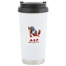 A.C.F Reims - auto race Stainless Steel Travel Mug
