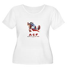 A.C.F Reims - auto race Women's Plus Size Scoop Ne