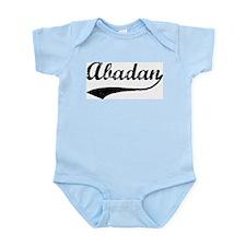 Vintage Abadan Infant Creeper