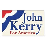 Kerry for America Rectangle Sticker