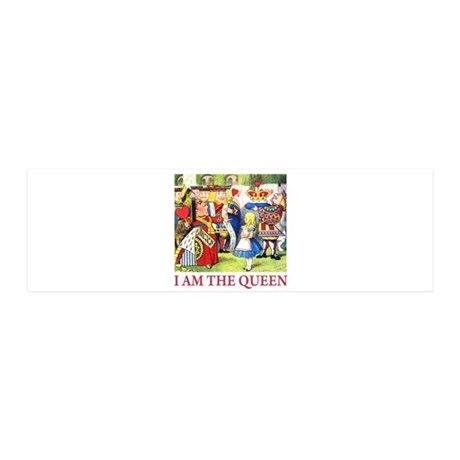 I Am The Queen 21x7 Wall Peel