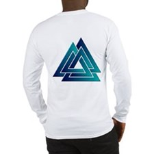 Blended Color Valknut Long Sleeve T-Shirt
