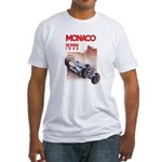Monaco_final.png Fitted T-Shirt