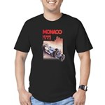 Monaco_final.png Men's Fitted T-Shirt (dark)