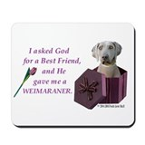 Cute Weimeraner Mousepad