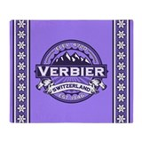 Verbier Violet Throw Blanket