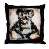 teddy_Grunge_5_totebag.jpg Throw Pillow